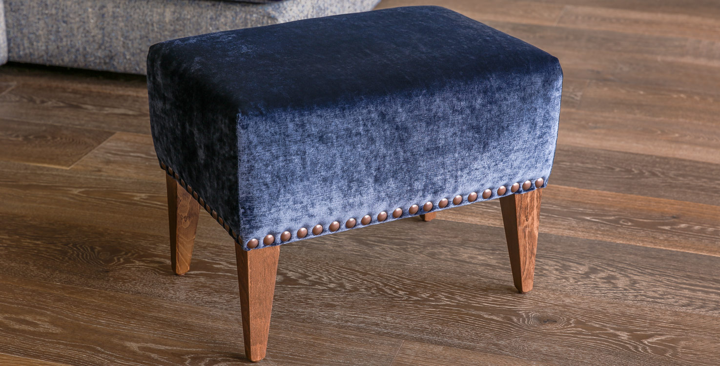 Monet footstool